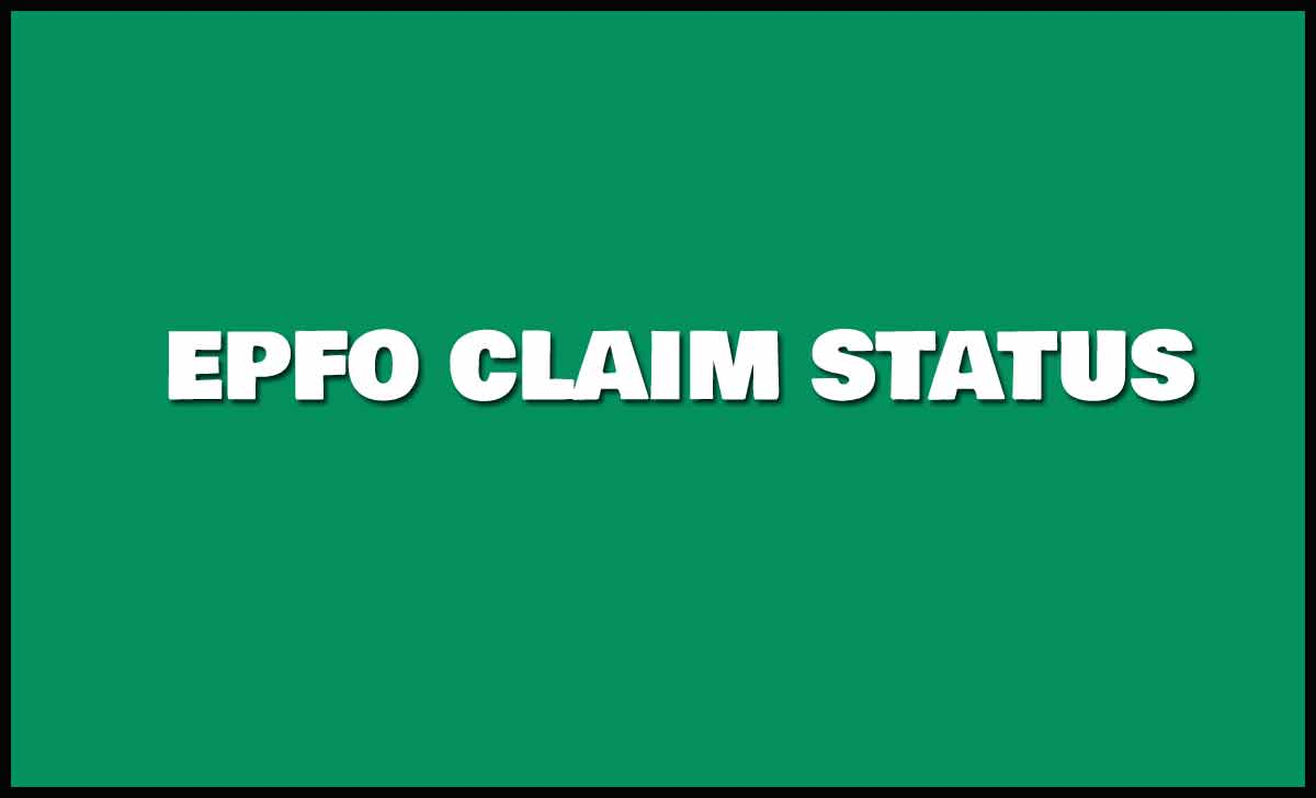 EPF Claim Status Online or Mobile App