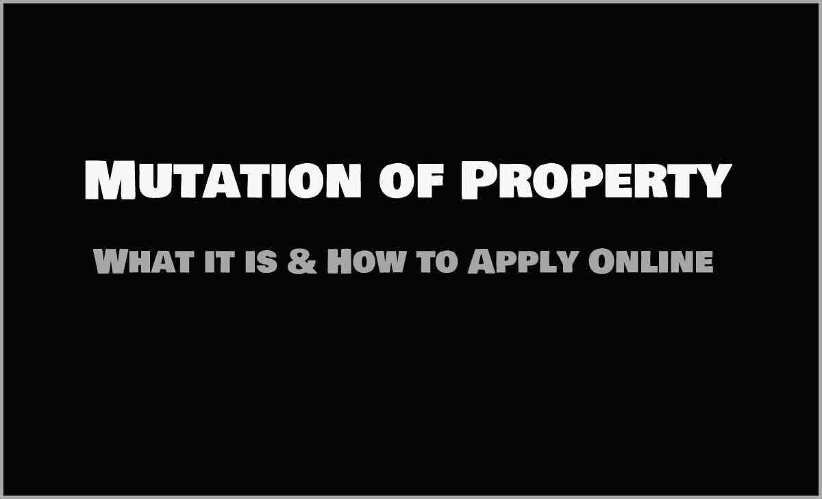 Mutation of Property Online