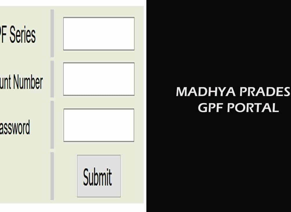 Madhya Pradesh GPF Slip Online Download for Annual Account