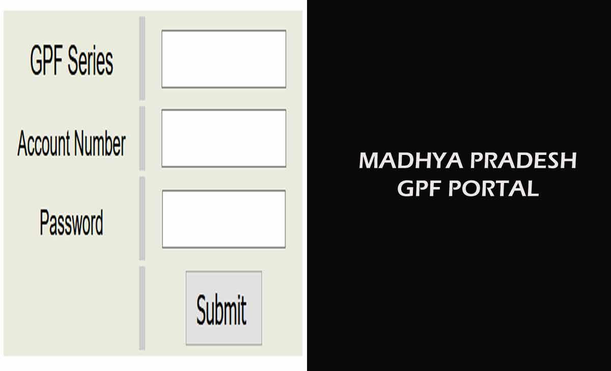 Madhya Pradesh GPF Slip