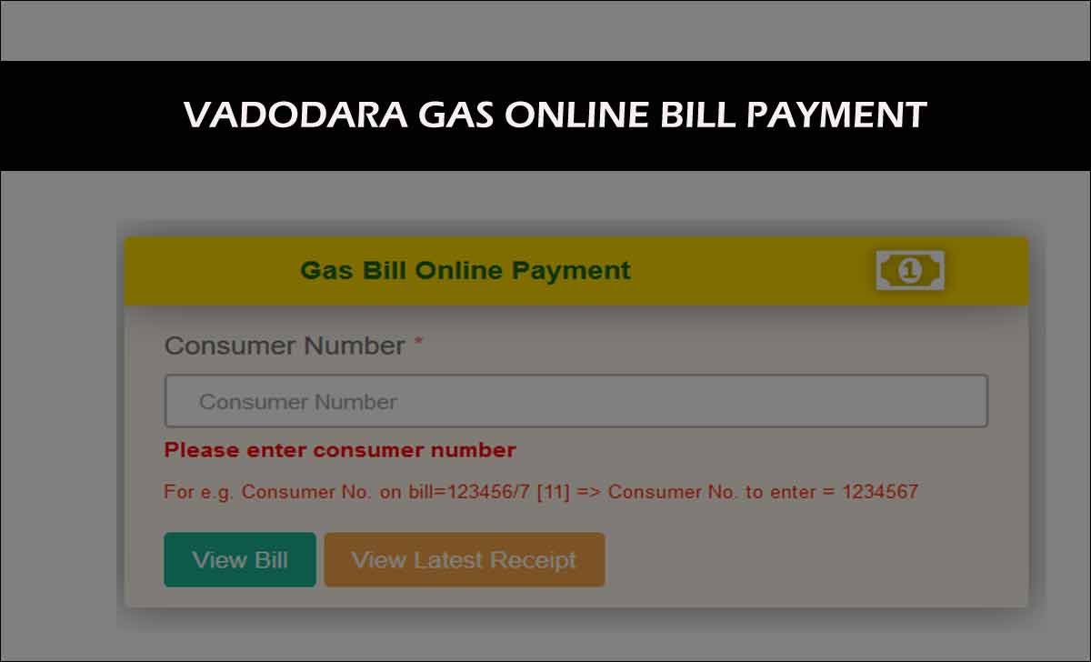 VGL Gas Payment Online