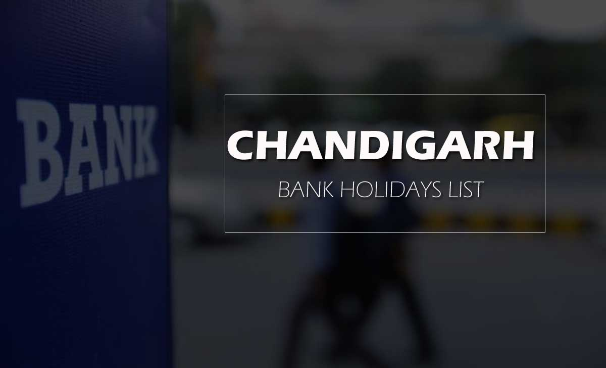 Chandigarh Bank Holiday list