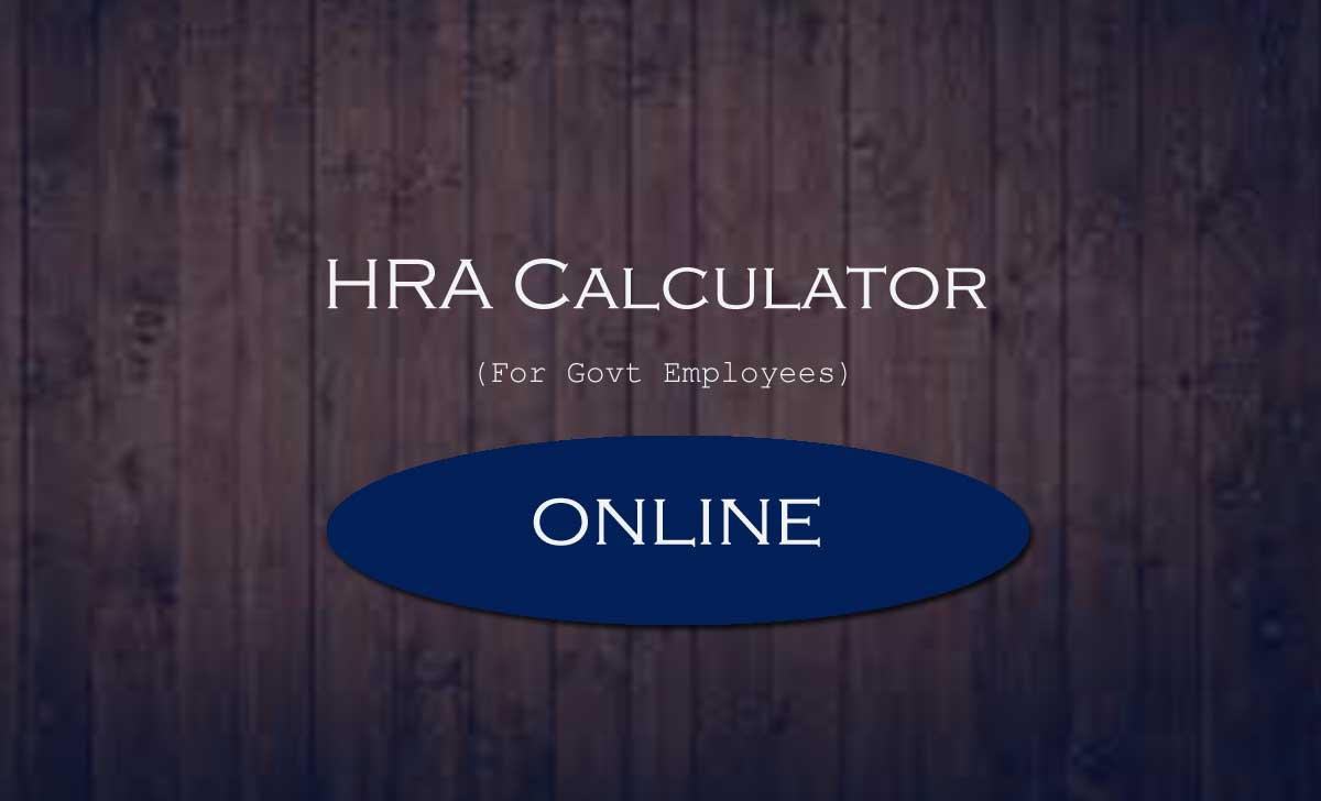 HRA Calculator