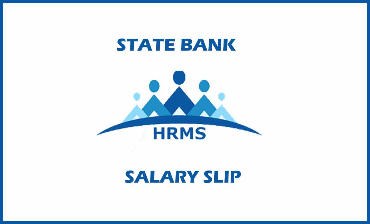 SBI Salary Slip