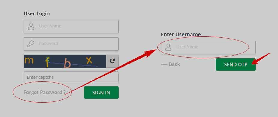 IFMIS Telangana Password Change