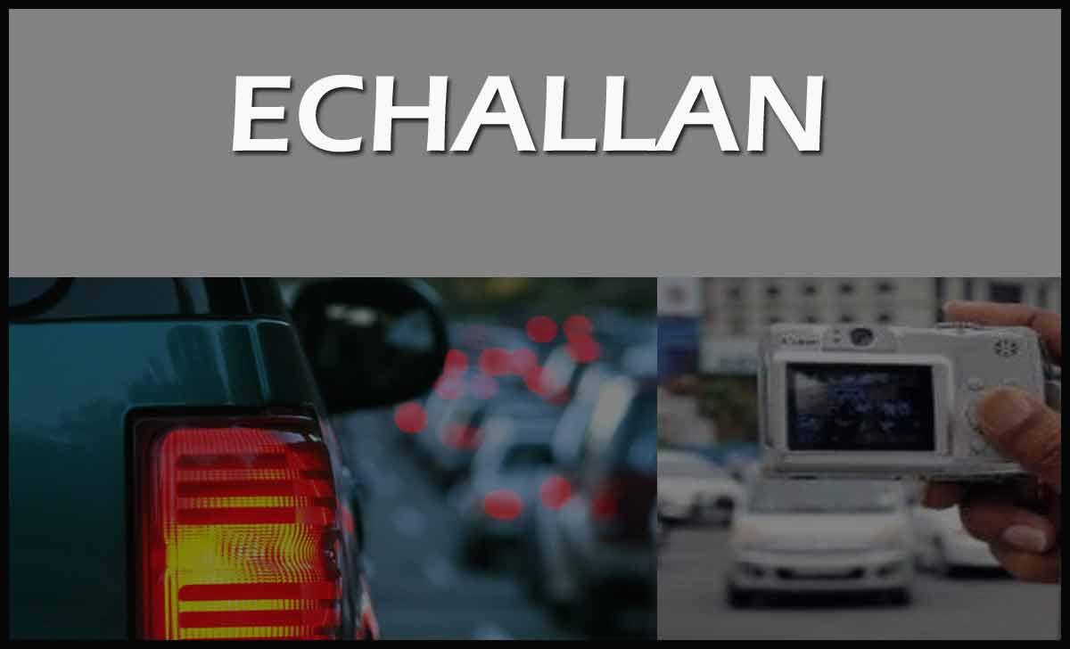 e Challan