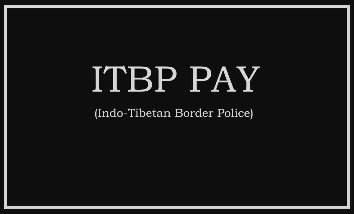 ITBP Pay Slip