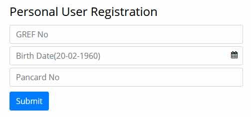 PAO GREF registration