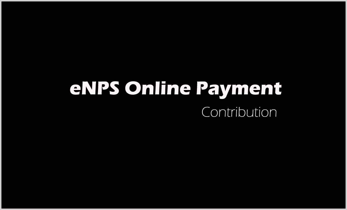 NPS Contribution